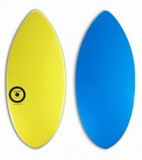 MINI DESIGN Skimboard スキムボード MINI KIDS premium-720 YELLOW/ BLUE 110cm