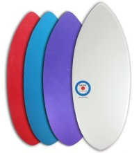 MINI DESIGN Skimboard スキムボード A3D WHITE カスタム 128cm