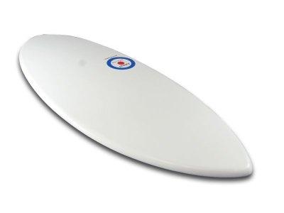 画像2: MINI DESIGN Skimboard スキムボード WIHTE カスタム 122cm