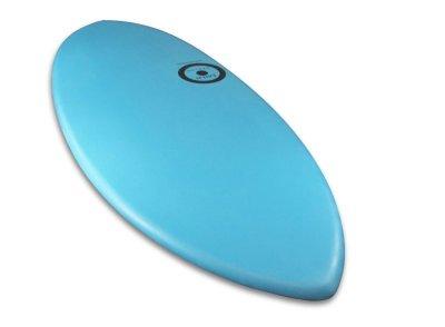 画像2: MINI DESIGN Skimboard スキムボード Water BLUE カスタム 122cm