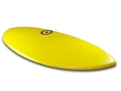 画像5: MINI DESIGN Skimboard スキムボード A3D YELLOW カスタム 125cm